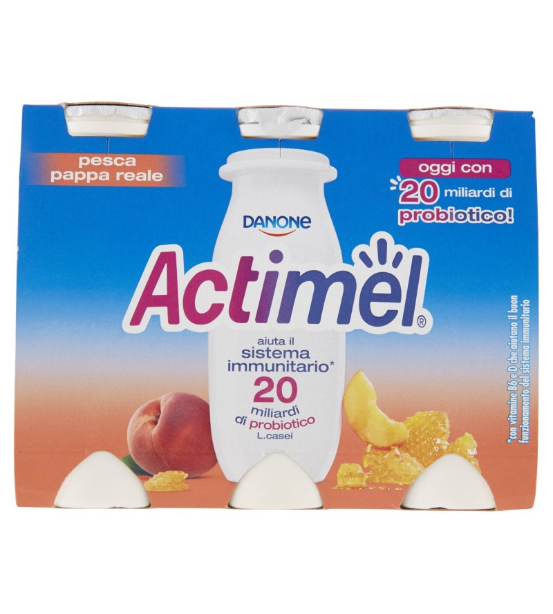 ACTIMEL PESCA E PAPPA REALE...